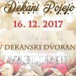 Dekani pojejo – 16. 12. 2017
