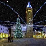 Božično vzdušje na Titovem trgu